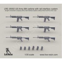LiveResin LRE35002 1:35 US Army M4 carbine
