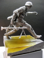 Jeffchiu's Miniatures JS120014 German Machine Gunner 'BARBAROSSA' 1941 Autumn 1:16