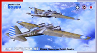 Special Hobby SH72440 model 139WC/WSM/WT 'Chinese, Thai & Turkish' 1/72