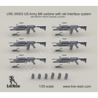 LiveResin LRE35003 1:35 US Army M4 carbine
