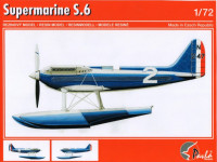 Pavla Models 72066 Supermarine S.6 + transport carriage 1:72
