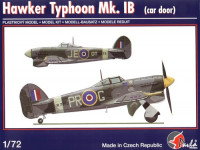 Pavla Models 72044 Hawker Typhoon IB (car door) 1:72