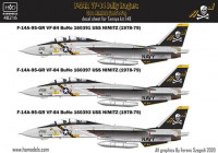 HAD 48216 1/48 Decal F-14A VF84 Jolly Rogers, 1978-79