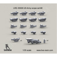 LiveResin LRE35008 1:35 US Army scope set 2