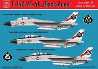 HAD 48217 1/48 Decal F-14A VF-41 Black Aces