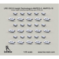 LiveResin LRE35010 1:35 Insight Technology's AN/PEQ-2, AN/PEQ-15