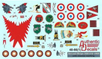 Authentic Decals AD 4866 Mirage 2000D/N/-5DDA with mission marking