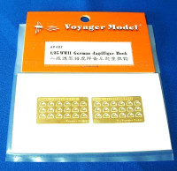 Voyager Model AP021 Photo Etched set for JagdTiger Series Hook (For All)