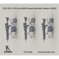 LiveResin LRE35013 1:35 M249 Squad Automatic Weapon (SAW)