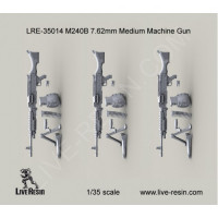 LiveResin LRE35014 1:35 M240B 7.62mm Medium Machine Gun