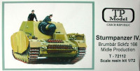 TP Model TPMO72112 1/72 Sturmpanzer IV. Sdkfz 166 Middle Production