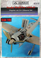 Aires 4315 Fw 190A-8 engine set 1:48 (распродажа)