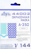 Sx Art 44002 1/144 A-350-1000 Painting mask (ZVE)