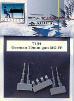 Aires 7134 German 20mm guns MG FF 1:72 (распродажа)