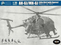 Kitty Hawk 50004 AH-6J/MH-6J Little Bird с десантом 1:35