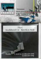 Aires 7136 Lockheed C2 seat for F-104C 1:72 (распродажа)