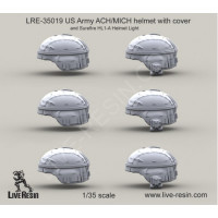 LiveResin LRE35019 1:35 US Army ACH/MICH
