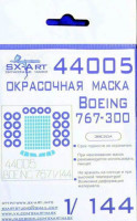 Sx Art 44005 1/144 Boeing 767-300 Painting mask (ZVE)