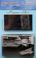 Aires 4367 F-117A Nighthawk cockpit set (1)