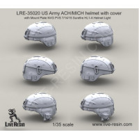 LiveResin LRE35020 1:35 US Army ACH/MICH