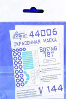 Sx Art 44006 1/144 Boeing 787 Painting mask (ZVE)