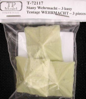TP Model TPMO72117 1/72 Tents - Wehrmacht (3 pcs.)