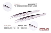 Meng Model MTS-035 Precision Flat-Tip Tweezers