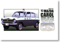 Arii 202647 `62 Mazda Carol Mini Patrol Car 1:32