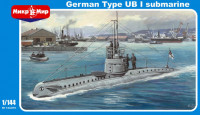 Mikromir 144-016 German Type UB-1 submarine 1:144