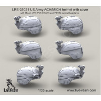 LiveResin LRE35021 1:35 US Army ACH/MICH