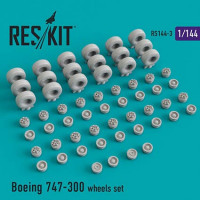 Reskit 14403 1/144 Boeing 747-300 wheels (REV)