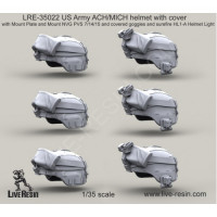 LiveResin LRE35022 1:35 US Army ACH/MICH