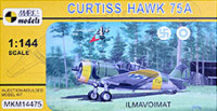 Mark 1 Model MKM-14475 1/144 Curtiss Hawk H-75A 'Ilmavoimat' (4x camo)
