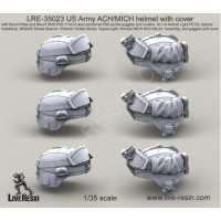 LiveResin LRE35023 1:35 US Army ACH/MICH