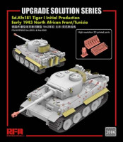 RFM Model RM-2006 Upgrade solution for 5001 & 5050 Tiger I initial production 1:35