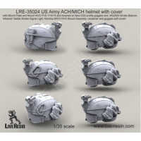 LiveResin LRE35024 1:35 US Army ACH/MICH