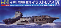 Aoshima 009390 Royal Navy aircraft carrier HMS Illustrious 1:2000