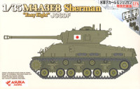 Asuka Model 35-024SP JGSDF M4A3E8 Sherman `Easy Eight` 1:35