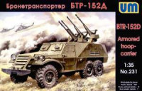 UM  231	Soviet Armoured troop-carrier BTR-152D