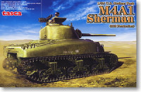 Asuka Model 35-010 M4A1 Sherman Mid-term Type 1:35