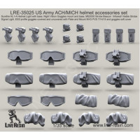 LiveResin LRE35025 1:35 US Army ACH/MICH