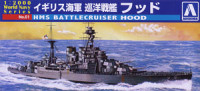 Aoshima 009321 Royal Navy battle cruiser hood 1:2000