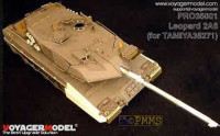 Voyager Model Pro35001 Photo Etched set for 1/35 Leopard 2A6(For TAMIYA35271)