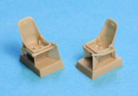 SBS Model 48007 Bf-109E seats with harness 1:48