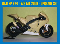 REJI MODEL DECRJM974 1/12 Transkit - Yamaha YZR M1 2006 - upgrade set