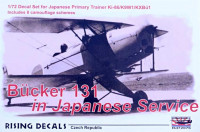 Rising Decals RIDE72076 1/72 B?cker 131 in Japanese Service (8x camo)