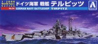 Aoshima 009352 German Navy battleship Tirpitz 1:2000