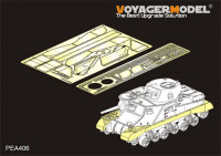 Voyager Model PEA406 WWII British Grant Medium Tank Track Covers (For TAKOM 2086)(распродажа)