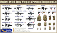 Gecko Models 35GM0026 Modern British Army Weapon & Personal Equipment 1/35