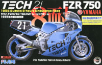 Fujimi 141312 Yamaha FZR750 Tech21 Shiseido Racing Team 1985 1:12